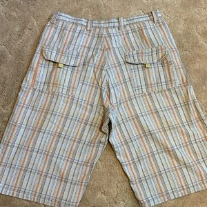 Shorts - Brooklyn Express men's plaid shorts size 36
